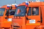 """俄""""克里米亚大桥""""揭幕 普京亲自驾驶卡车通过"""