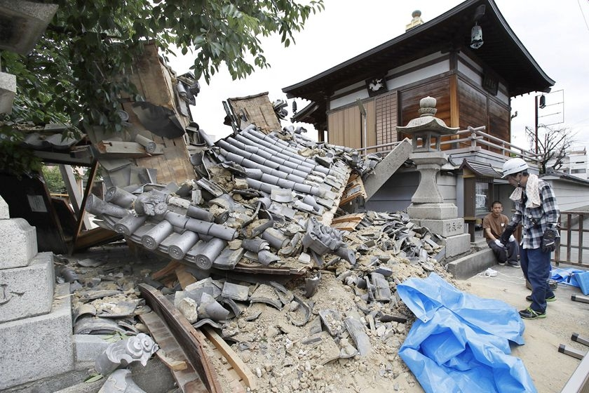 大阪6.1级地震已致3死51伤 新干线停运