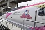 日本Hello Kitty主题新干线即将粉嫩出发