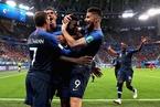 乌姆蒂蒂头球建功 法国1-0力克比利时挺进决赛