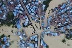 洪水致重庆太和镇被淹 6600余人紧急转移