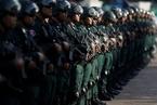 柬埔寨大选临近 武装部队集结誓师