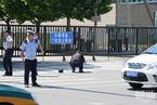 美国驻华大使馆附近发生爆燃 只有肇事者受伤