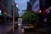 上海太热了 市民夜间在南京东路长椅上露宿乘凉