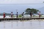 缅甸一大坝溃口致部分地区被淹 逾5万人撤离