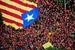 加泰罗尼亚纪念'国庆日' 爆发大规模游行