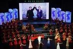 朝鲜举行文艺演出 欢迎文在寅夫妇到访