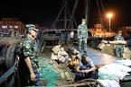 辽宁破非法捕捞水产品案 查获渔物500余吨