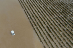 法国南部暴雨引发洪灾 造成至少10人死亡