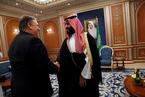 美国务卿访沙特 就记者失踪案与沙特领导人会谈