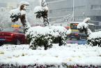 新疆乌鲁木齐迎来首场降雪 暴雪黄色预警已发布