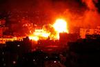 加沙地带冲突升级 以色列轰炸哈马斯电视台