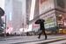 美国华盛顿和纽约迎来初雪 时报广场银装素裹