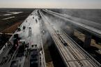 北京新机场高速已建七成 计划明年上半年完工