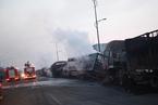 河北省张家口市发生爆炸事故 已致22人死亡