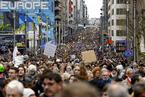 联合国气候变化大会开幕 世界多地民众参加游行