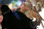 沙特举办首届猎鹰与狩猎展