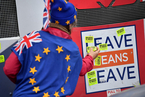 英议会将就脱欧协议投票 去留两派民众街头对峙