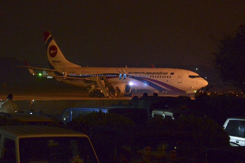 孟加拉国一民航客机遭劫持迫降 劫机者被击毙图片 205187 840x560