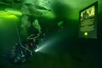 潜水摄影师举办首个水下艺术展 如同置身幻境