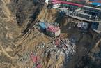 山西乡宁县枣岭乡山体滑坡已致10人死亡10人失联