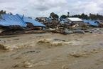 印尼东部洪灾已致58人遇难 伤亡人数恐还将上升
