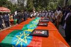 埃塞航遇难者遗体未移交 家属用焦土举行葬礼