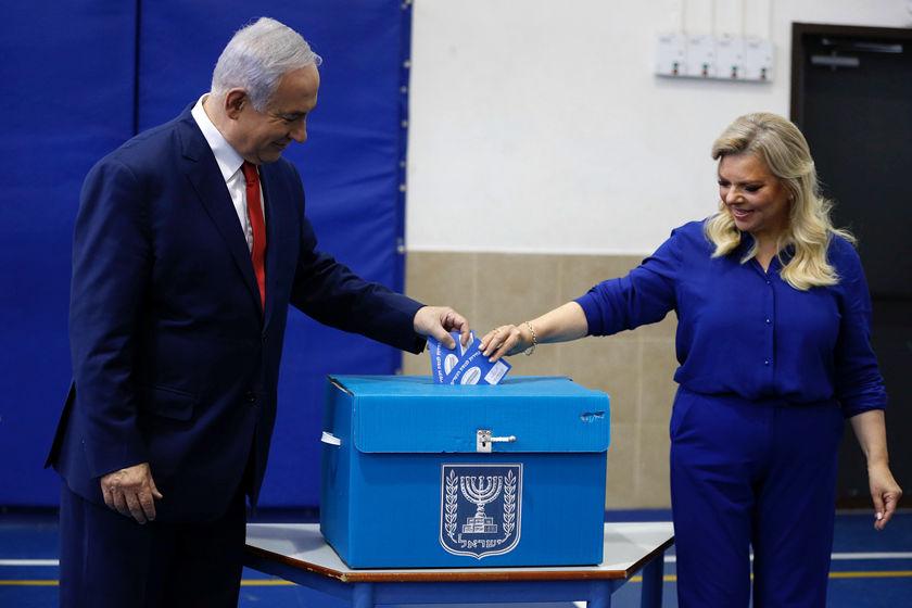 以色列议会选举 蓝白党和利库德集团均宣布获胜