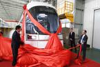 特拉维夫首列轻轨车在长春下线 采用防爆设计