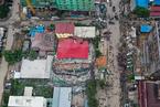 柬建筑倒塌事故已致24人死亡 洪森视察事故现场