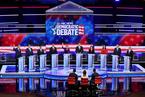 美国民主党举行初选辩论 特朗普看后表示无聊