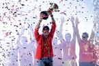 西班牙男篮夺冠归国举行庆典 获国王和首相接见