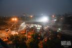 无锡高架桥侧翻致3人死亡 事故现场清理工作进行中