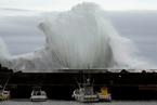 """台风""""海贝思""""逼近日本 首都圈将大规模停运"""