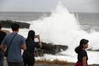 """强台风""""海贝思""""将袭日本 大范围地区遭暴雨"""