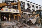 无锡小笼包店燃气爆炸致9死 店内地面塌陷门窗炸毁