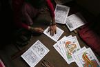 现代印刷冲击千年传统 尼泊尔唐卡画艺正消失