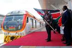 中企承建的肯尼亞內馬鐵路一期通車