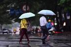 """臺風""""麥德姆""""影響海南 瓊海迎降雨天氣"""