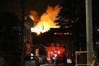 沖繩首里城陷入火災 正殿北殿全被燒毀