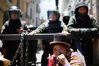 玻利维亚陷入政治危机 当地骚乱持续