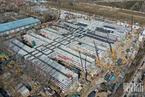 """北京""""小汤山""""改造工程进行中 病房区装修基本完成"""