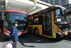 杭州恢复公交正常运营 乘客凭健康码绿码乘坐