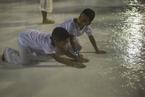狂欢节在即 里约清洗桑巴大道