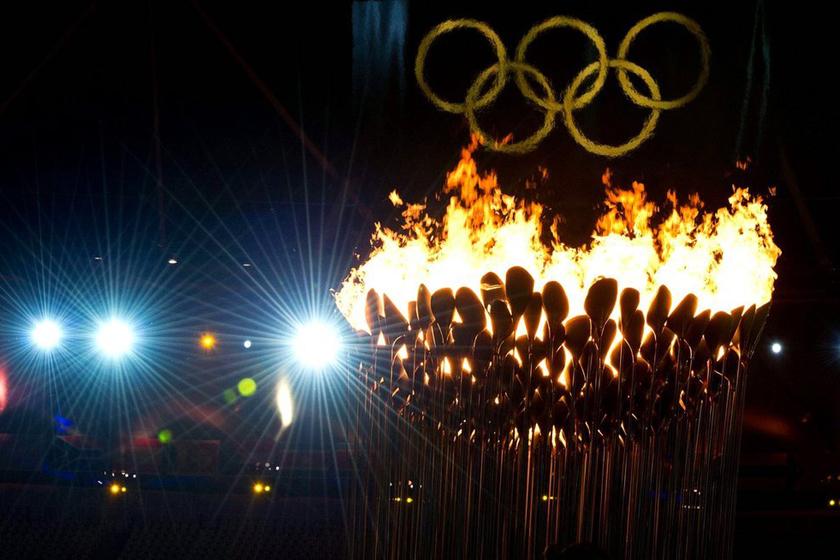 7月28日,伦敦奥运会开幕式。  东方IC_2012伦敦奥运会开幕式