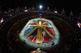 伦敦奥运会举行盛大闭幕式