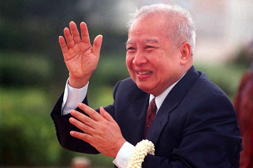 资料图:西哈努克。     DAVID VAN DER VEEN/东方IC_柬埔寨前国王西哈努克在北京逝世