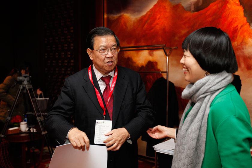 11月16日,2012财新峰会嘉宾。   王攀/财新记者_2012财新峰会嘉宾