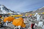尼泊尔新冠疫情恶化 病毒入侵尼泊尔珠峰大本营