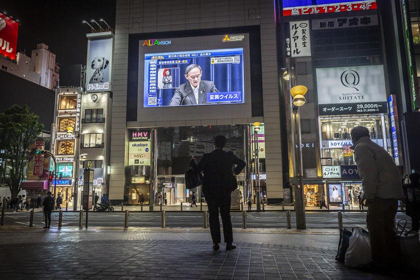 日本延长多地紧急状态并扩大范围